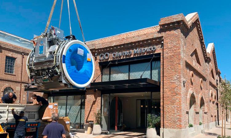 Grupo Oroño instala un nuevo resonador de alto campo en Alto Rosario Shopping